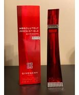 Givenchy Absolutely Irresistable Perfume 1.7 Oz Eau De Parfum Spray - $199.98
