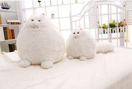 Lovely Simulation Persian Cat Plush Toys Soft Cotton Stuffed Pembroke Pet Animal - $26.26+