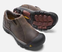 Keen Brixen Tamaño 11.5M (D) Eu 45 Hombre Wp sin Cordones Suave Zapatos Trabajo