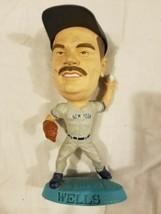 David Wells NYY Figure Vintage 1999 90s New York Yankees MLB Baseball  - $13.71