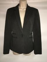 Express Blazer Jacket Size 2 Womens Charcoal Gray NWT $128 - $58.05