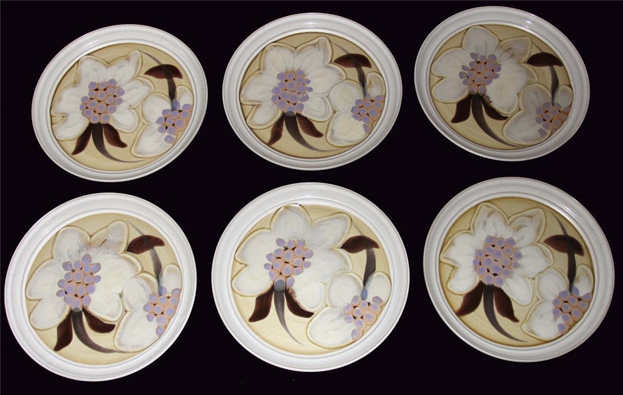 6 Vtg Noritake Folkstone ORIENTAL GARDEN Raised Floral 10.5  Dinner Plates EXC - $64.99 & Noritake Dinner Plate (1970s): 9 listings
