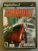 Burnout (Sony PlayStation 2, 2001) Rated E Race Game - $7.92
