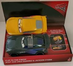 Disney/Pixar Cars 3 Flip To The Finish Ramirez & Jackson Storm Set - $17.90