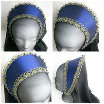 Renaissance French Hood, Tudor Hat, Anne Boleyn, French Hood, Ren Faire - $43.00