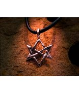 Seal of Solomon magick pendant command a legion of djinn and other spirits - $80.00
