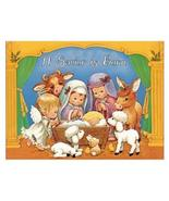 Nativity Christmas Personalized Birthday Edible Frosting Image 1/4 sheet... - $9.99