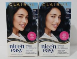 Set WOMAN'S CLAIROL nice'n easy Permanent Hair Dye, COLOR #2BB BLUE BLACK  - $20.00