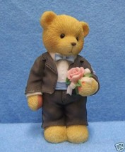 Cherished Teddies Groomsman Figurine The Time Has Come For Wedding Bliss - $6.92