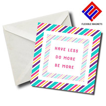 Have Less Do More Be ... Inspirational Quote Magnet for refrigerator. Gr... - $5.92