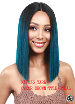 MIDWAY BOBBI BOSS MLF136 YARA STRAIGHT 100% PREMIUM SYNTHETIC LACE FRONT WIG