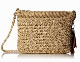 NWT The Sak Casual Classic 3 in 1 Crochet Crossbody Bag Sand SHIP INTL - $59.17