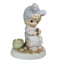 1995 Members Club Precious Moments Always Take Time To Pray Figurine PM9... - $14.80