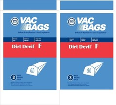 Dirt Devol Vacuum Bags Style F 6  Pack by DVC - $7.08