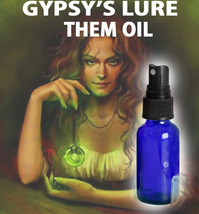 Haunted Extreme Gypsy's Lure Them To You Magick Oil Spray Witch Scholars - $16.50