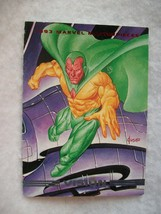 1993 Skybox Marvel Masterpieces Trading Card # 12 Vision - $0.95