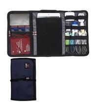 BUBM Durable Waterproof Wrap Electronics Accessories Travel Organizer /U... - £5.31 GBP