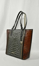 NWT Brahmin Asher Tote/Shoulder Bag in Serpentine Heartwood Embossed Lea... - $289.00