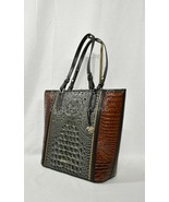NWT Brahmin Asher Tote/Shoulder Bag in Serpentine Heartwood Embossed Lea... - $289.00