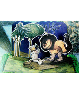 WHERE THE WILD THINGS ARE PARTY  CAKE PAPER POP-UP CARD TOPPER KIT BAKER... - $7.43