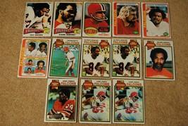 Vintage 1970s Falcons Topps Football Cards Lot James Jenkins Stanback Jones - $14.00