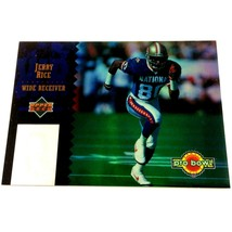 Jerry Rice 1994 Upper Deck Pro Bowl Insert Card #PB8 NFL San Francisco 4... - $4.90