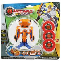 Pasha Mecard Noonik Mecardimal Turning Car Transformation Toy Action Figure image 3
