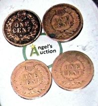 Indian Head Penny 1900, 1901, 1902, and 1903 AA20-CNP2143 Antique image 9