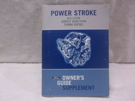 Ford F Series SD/SUPER Duty 6.0L Turbo Diesel Owner's Guide Supplement /MANUAL - $25.25