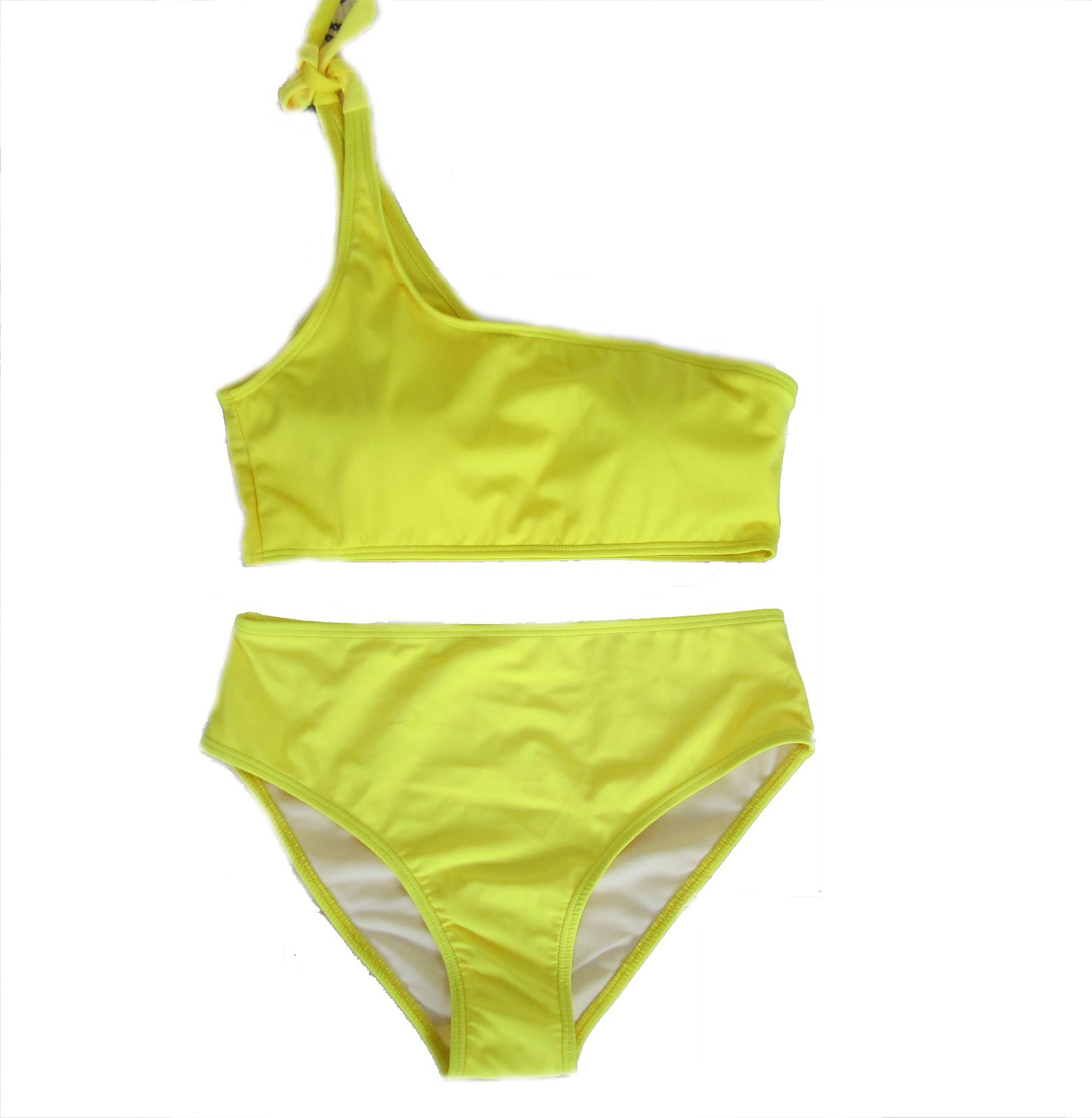 Women's One Shoulder Padded Two Pieces Bikini Set