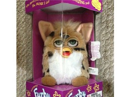 Furby - Brown with Black Stripes with White Belly & Brown Feet & White Ears - $96.21
