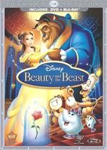 3 Disc Blu-ray/ DVD Disney Beauty and the Beast Diamond Edition: Lansbur... - $20.69