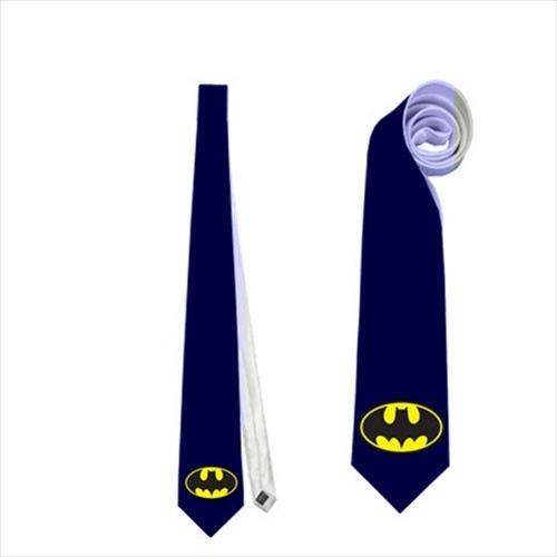 Necktie batman superhero comics symbol logo wedding fun groomsmen bachelor tie