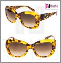 VERSACE Sunglasses VE4317A Brown Havana Glitter Medusa 4317 Oval Women - $191.57