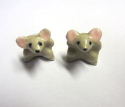 2 Vintage Hagen Renaker Mini Mouse with Hands on Hips Miniature Mice Fig... - $9.99