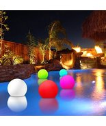 Modern Home Deluxe Floating LED Glowing Sphere w/Infrared Remote Control - $49.42