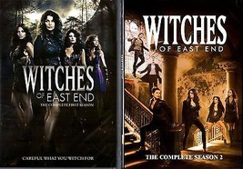 Witches of East End Season 1-2 Complete DVD Set Collection Series TV All... - $64.34