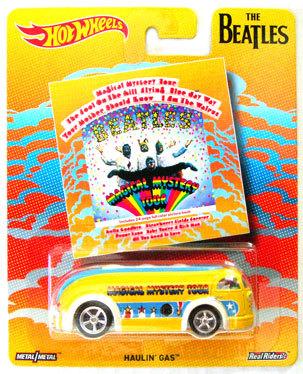 Beatles magical mystery tour haulin gas hot wheels