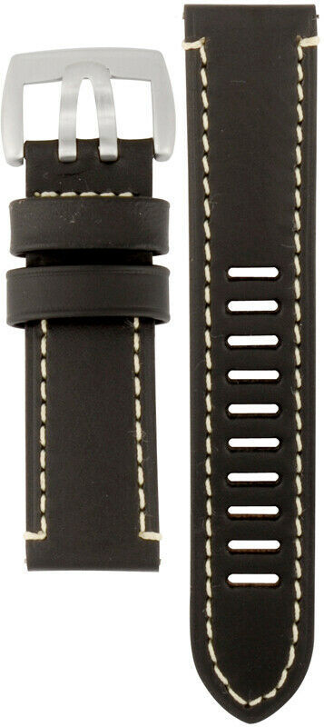 Luminox Watch Band Fied Series 1800 Black Leather Strap FE1800.20Q