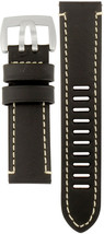 Luminox Watch Band Fied Series 1800 Black Leather Strap FE1800.20Q - $48.02