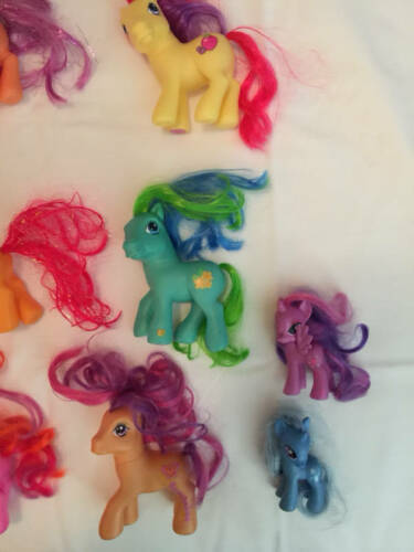 MY LITTLE PONY Lot Of 11 Older Ponies 2000's Hasbro G3 Some Rare