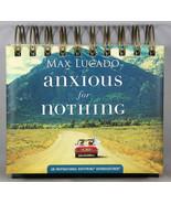 Max Lucado Anxious For Nothing NEW Daybrightener Perpetual Flip Calendar - $13.87