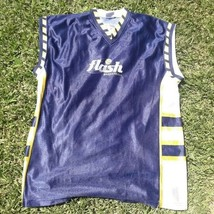 vintage old blue Jersey basketball -Argentina Flash Size XL - $18.81