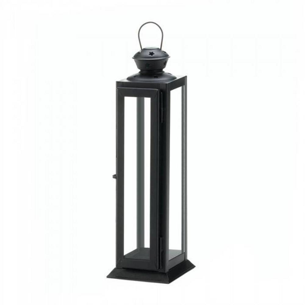 10018088  Gallery of Light Sleek and Tall Star Candle Lantern