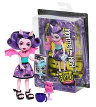 """Monster High Monster Family of Draculaura Fangelica 5.5"""" Doll New in Box - $10.88"""