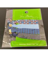 Vera Bradley Marrakesh Signature Shimmery Stretch Hair Ties 4 Pack NEW RARE - $11.11
