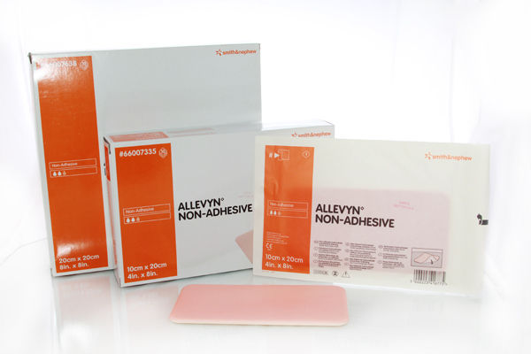 Primary image for ALLEVYN Non-Adhesive 20cm x 20cm Advanced Foam Wound Dressings 66007638