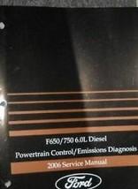 2006 Ford F-650 F-750 Super Service Camion 6.0L Diesel Powertrain Contro... - $19.83