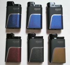 DJEEP Deluxe Soft Touch Luxury 6 Lighters, up to 4000 lights - $15.35