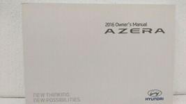 2016 Hyundai Azera Owners Manual 73468 - $30.39
